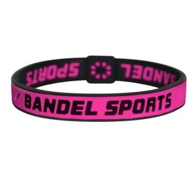 BANDEL スポーツストリング ブレスレット(レッド×ブラック)Sサイズ