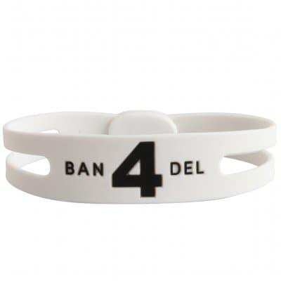 BANDEL ブレスレット レギュラー(ホワイト)NO.4 Mサイズ