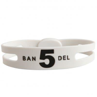 BANDEL ブレスレット レギュラー(ホワイト)NO.5 Mサイズ