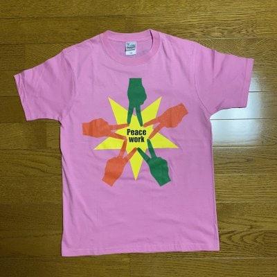 Peace Work Tシャツ(ピンク)XSサイズ