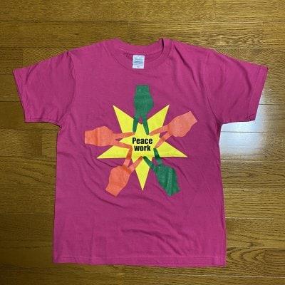 Peace Work Tシャツ(ピンクⅡ)XSサイズ