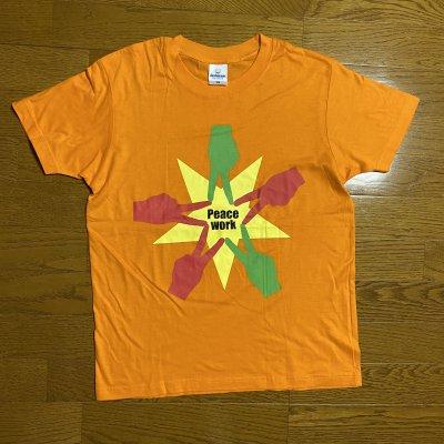 Peace Work Tシャツ(オレンジ)Sサイズ