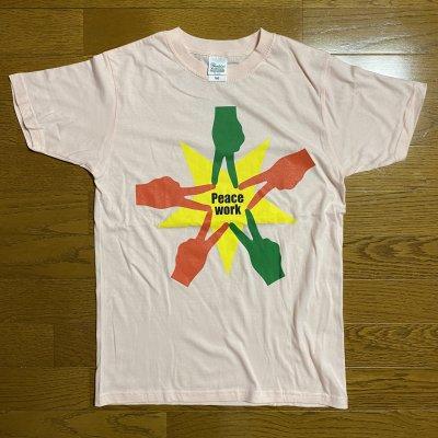 Peace Work Tシャツ(ピンクⅢ)Lサイズ
