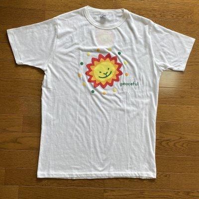 Peacefulライオン (ホワイト) Lサイズ