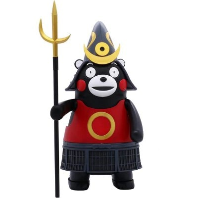 くまモンのプラモ特別仕様鎧兜バージョンくまモンのフィギュア付き