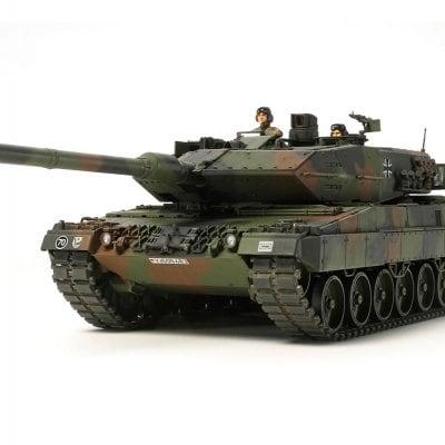 タミヤミリタリーミニチュアシリーズ1/35スケールドイツ連邦軍主力戦車レオパルト2A6