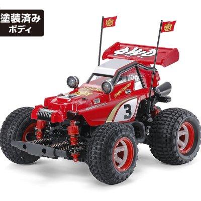 コミカルホットショット タミヤ模型新製品 GF-01CBシャーシ電動4駆
