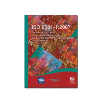 TQC さび度(除せい度)ブック/The Rust Grade book KT-LD3020