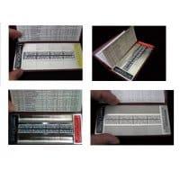 Rubert マイクロサーフシリーズ:携行用各種加工表面&粗さ比較見本セット...