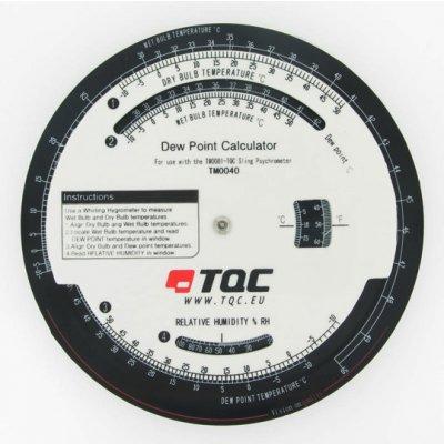 TQC 露点計算盤 KT-TM0040