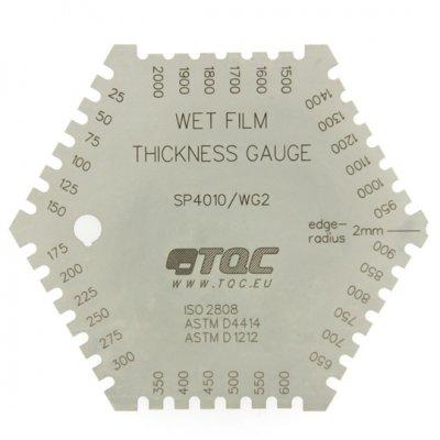 TQC くし形ウェットフィルム膜厚計  KT-SP4010