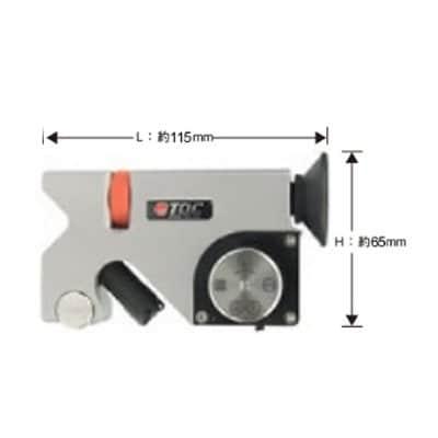 TQC スーパーPIG(くさび形切削膜厚計)カッター