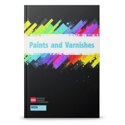 ISO HANDBOOKS PAINTS & VARNISHES Volume 1: General test methods - Part 1 KT-LD3015