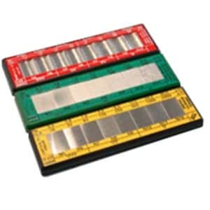 RUBERT マイクロサーフシリーズ比較見本板グリット&ショットブラスト KB-329