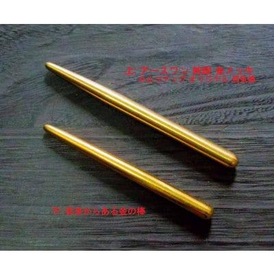 ワース・ワン プロ(アース療法用施療具)2本セット 純銀+金メッキ