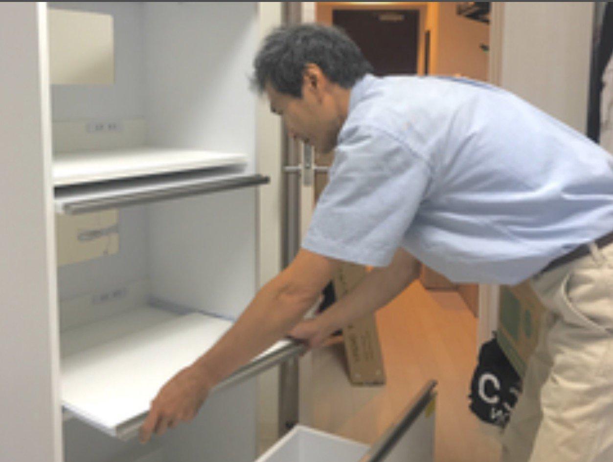 家具組み立てサービス 3辺合計 401~500センチ または 複数 1時間以内(通販家具:IKEA、ニッセン、ニトリ、ディノス、その他)のイメージその1