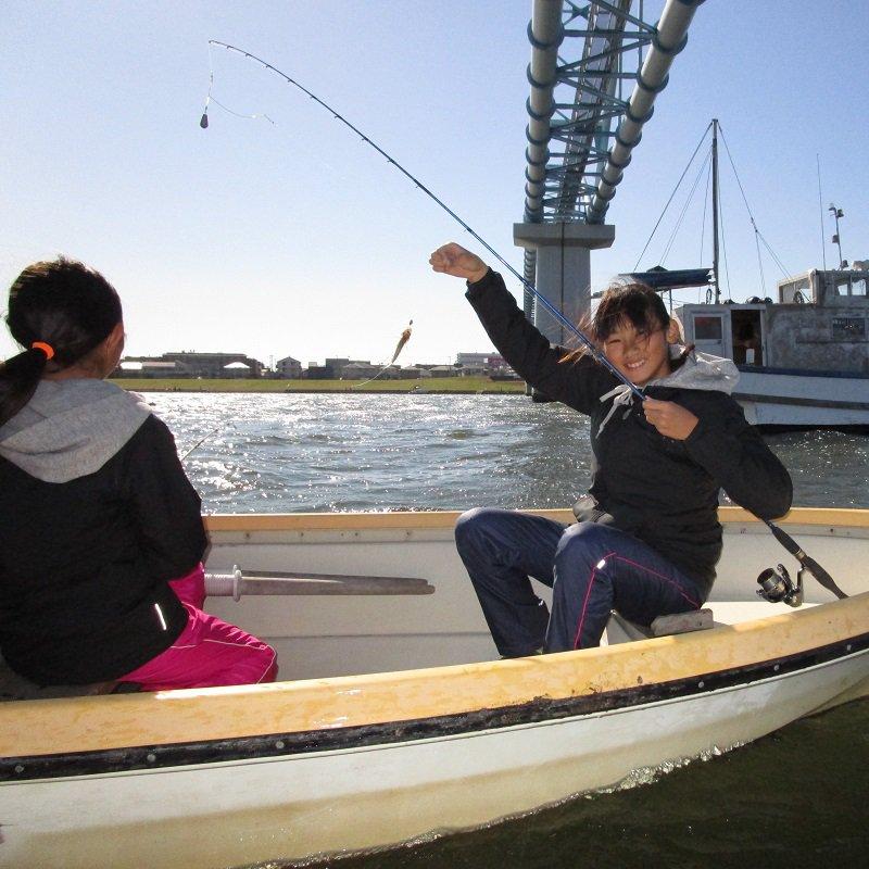 【土日祝日限定】ハゼ釣り2人乗り貸しボートお得コースのイメージその5