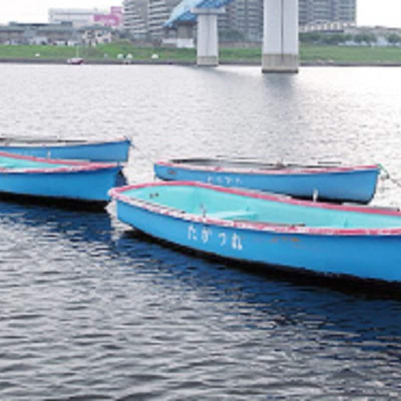 ハゼ釣り貸しボートの生エサチケットのイメージその4