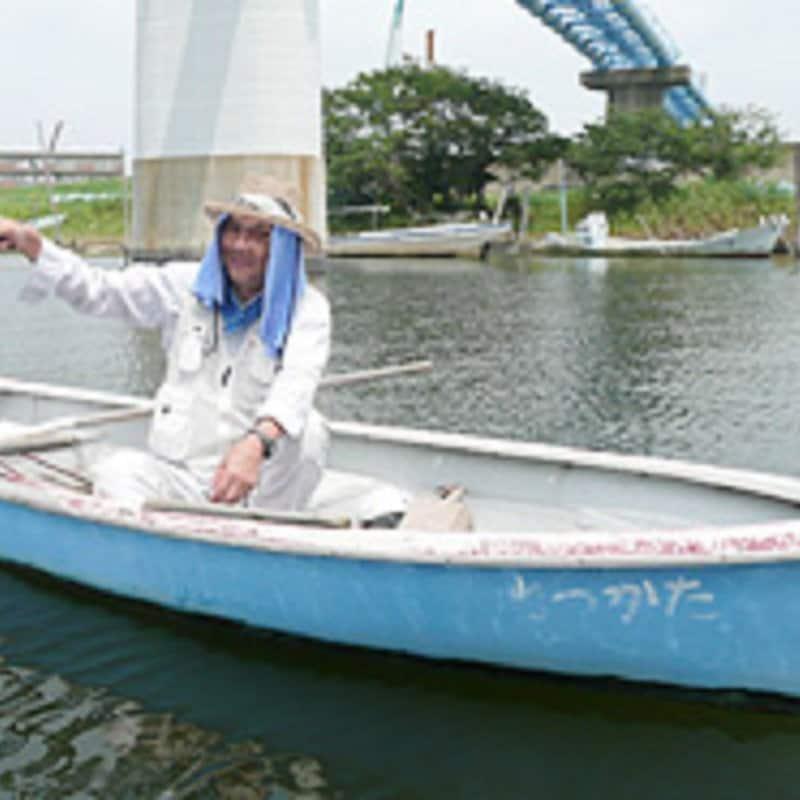 ハゼ釣り貸しボートのレンタルのべ竿チケット(リール無し:7~9月専用)のイメージその5