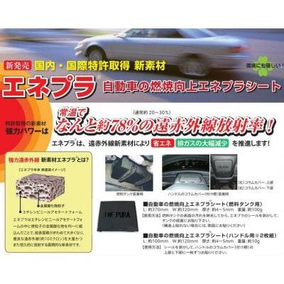 エネプラ 自動車の燃焼効率向上シート