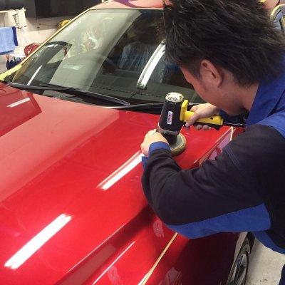 車のお手入れ~軽研磨【SSサイズ(ミラ、ワゴンR、ムーヴなど)】~