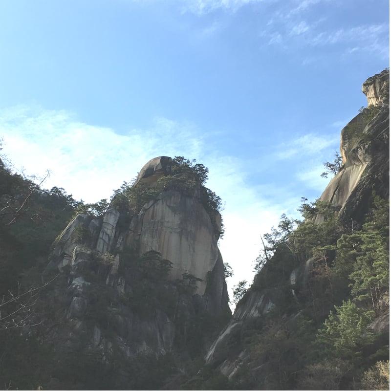 新緑輝く昇仙峡ハイキングのイメージその3