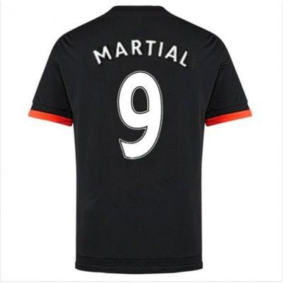 2016 マンチェスター ユナイテッド サッカー ユニフォーム アゥエイ カラー ブラック  背番号9