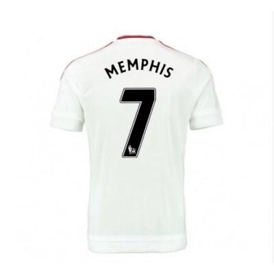 2016 マンチェスター ユナイテッド サッカー ユニフォーム アゥエイ カラー ホワイト 背番号7