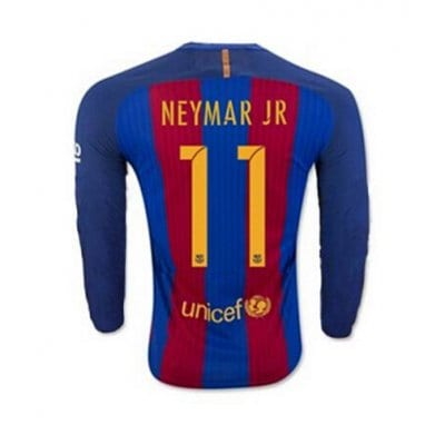 2017 FCバルセロナ ユニフォーム ホーム 長袖 背番号11【送料無料!さらに1000ポイント進呈!】