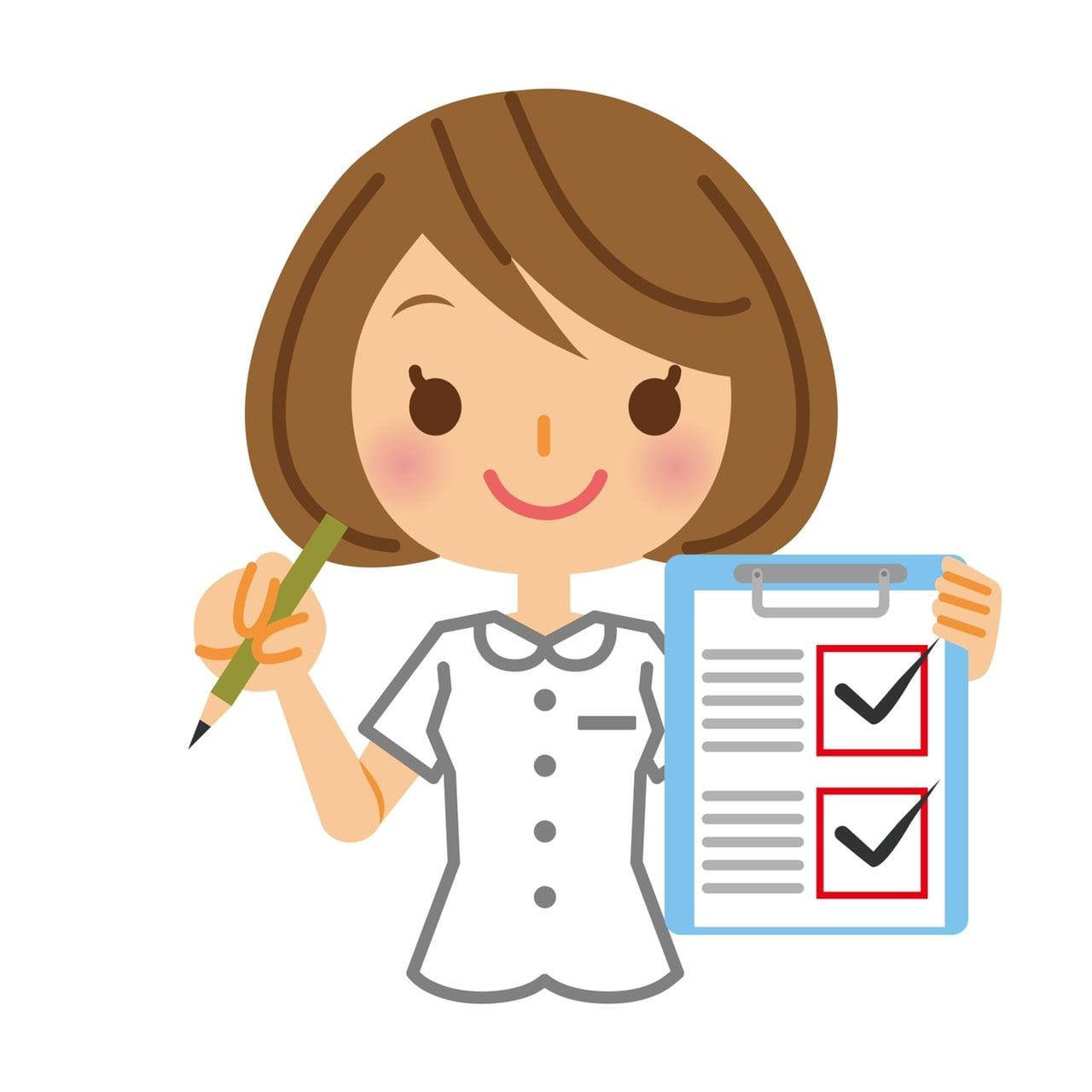 健康診断と食育マスターのイメージその1
