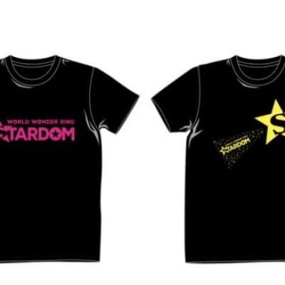 スターダム・オフィシャルTシャツ・イエローロゴ(2018・10・13発売)