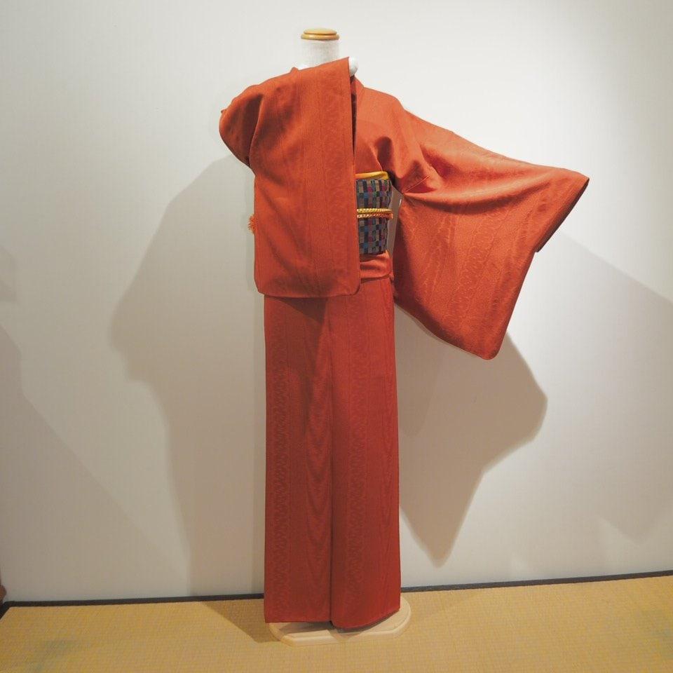 レンタル着物一式 色無地(正絹)袷 RI-01のイメージその4