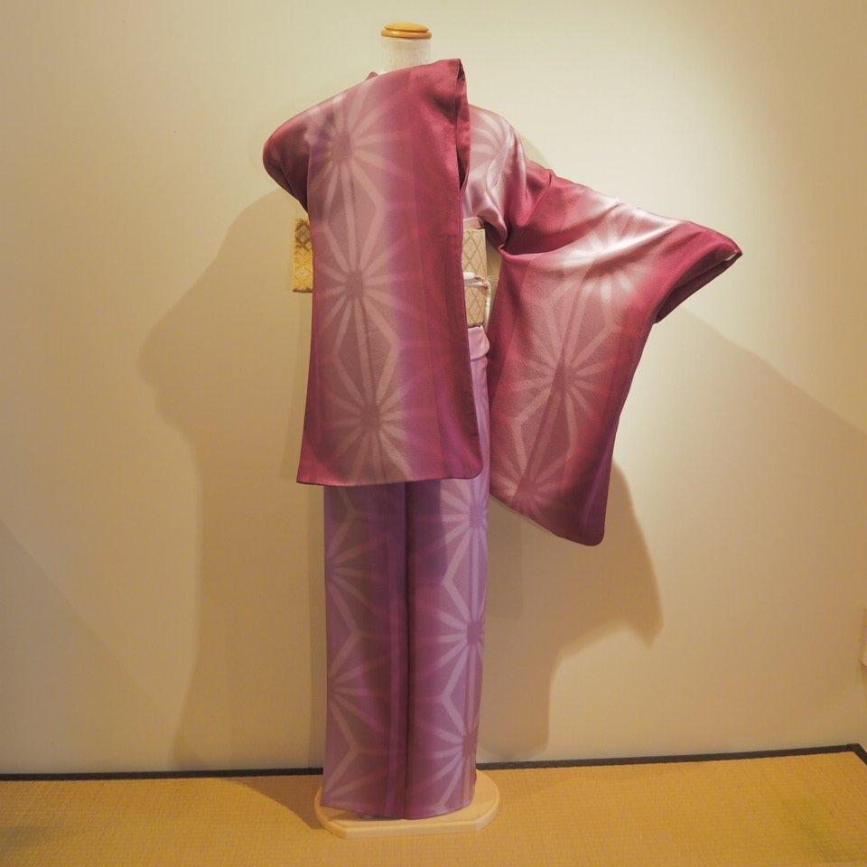 [金額変更]レンタル着物一式 小紋(正絹)袷 RK-22のイメージその4
