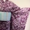 厳選仕立上り浴衣 紫草花