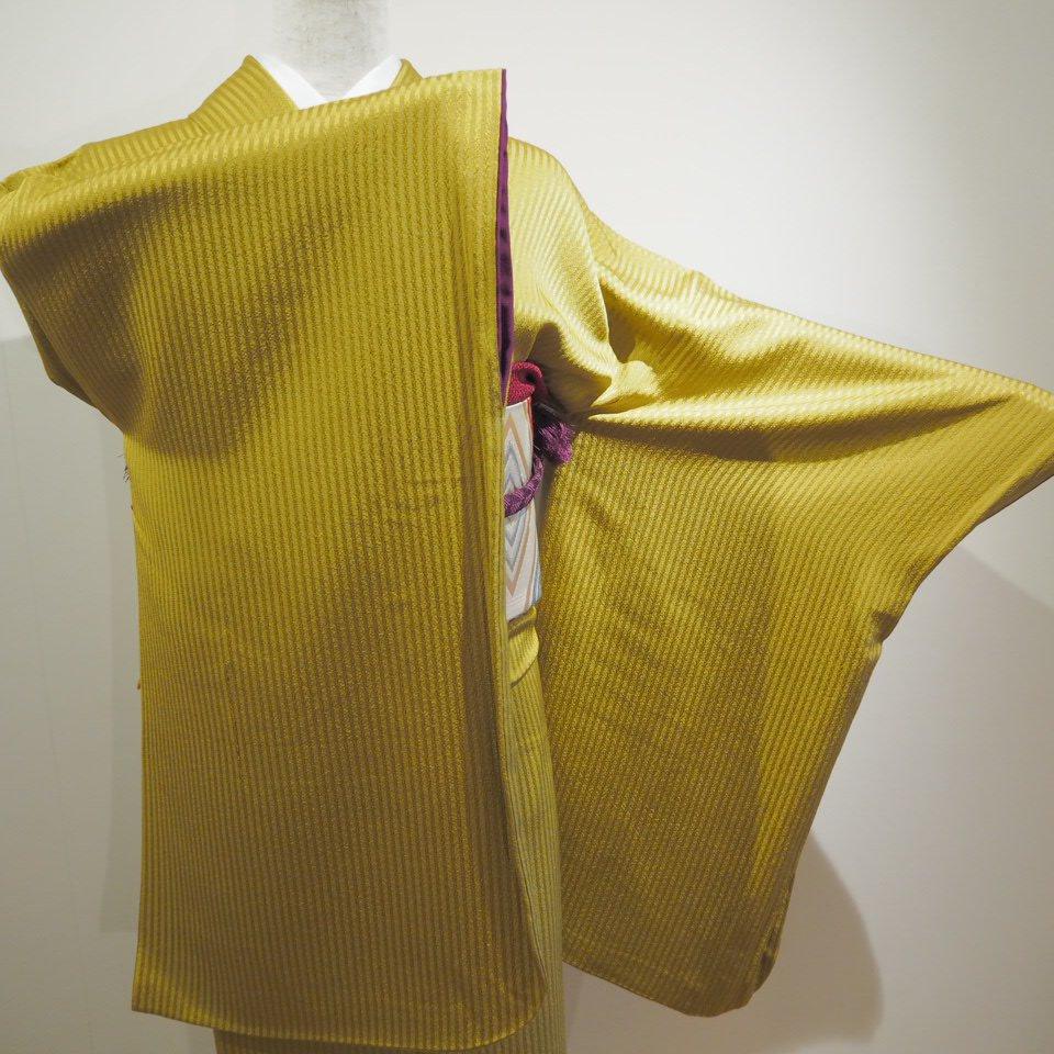 レンタル着物一式 色無地(正絹)袷 RI-10のイメージその3