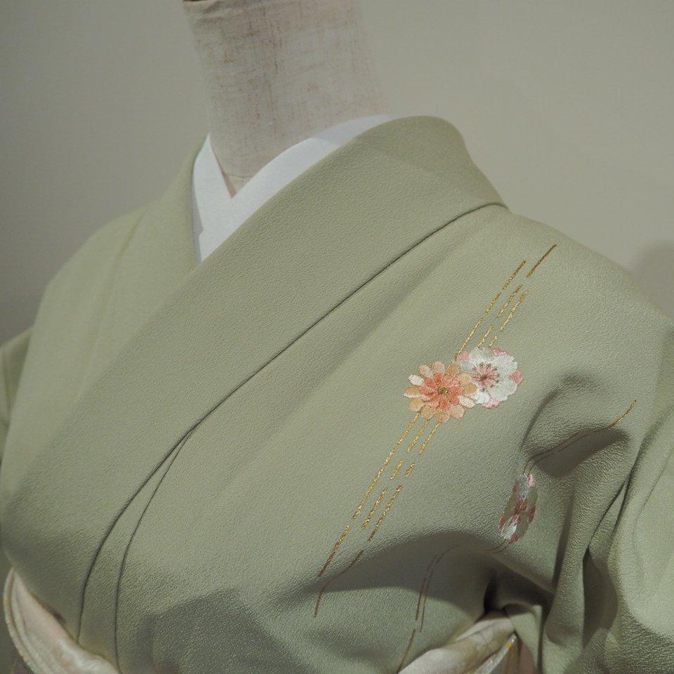 レンタル着物一式 訪問着(正絹)袷 RH-28のイメージその3