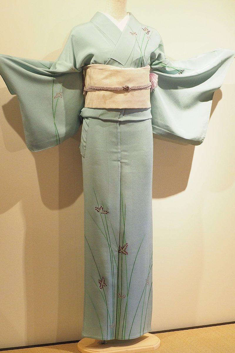 レンタル着物一式 訪問着(正絹)単衣 RH-48のイメージその1
