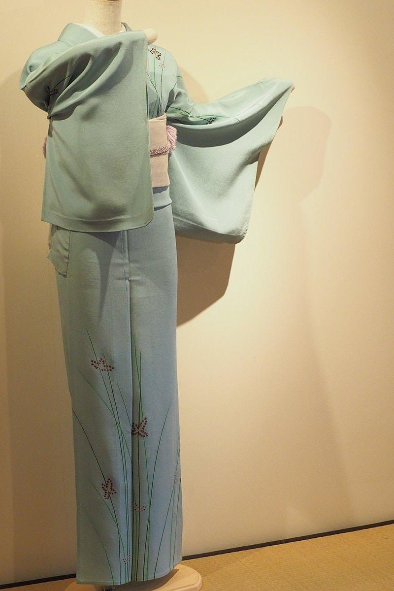 レンタル着物一式 訪問着(正絹)単衣 RH-48のイメージその2