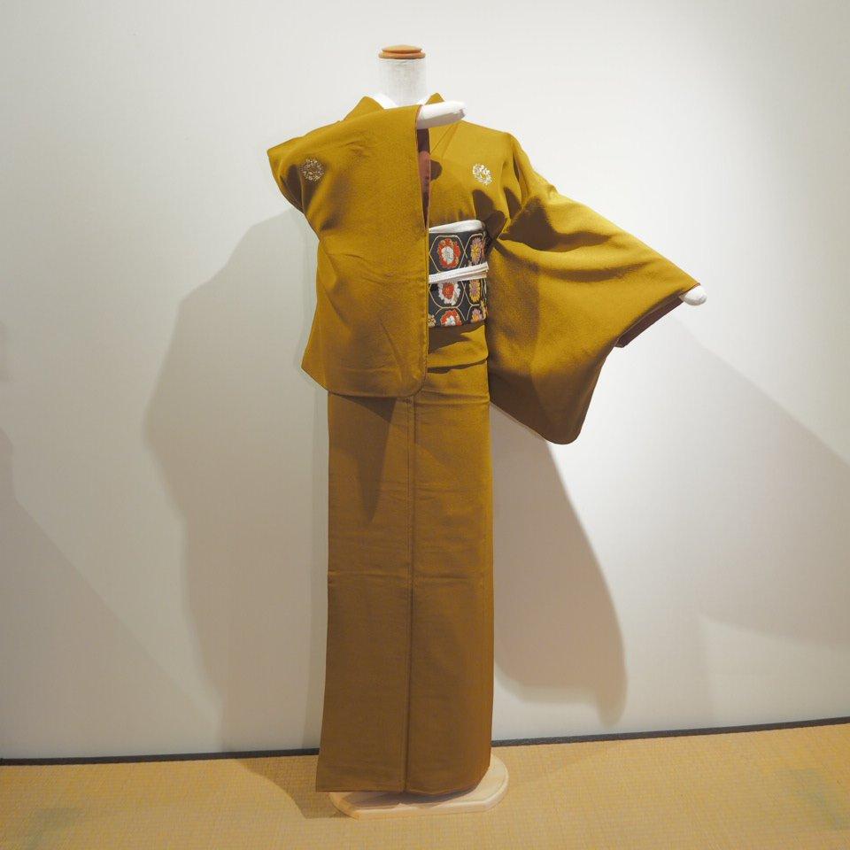 レンタル着物一式 色無地(正絹)袷 RI-05のイメージその3