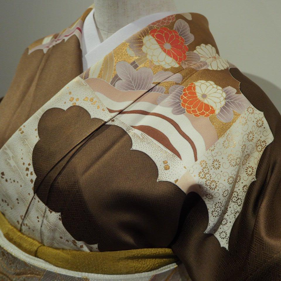 レンタル着物一式 訪問着(正絹)袷 RH-17のイメージその3