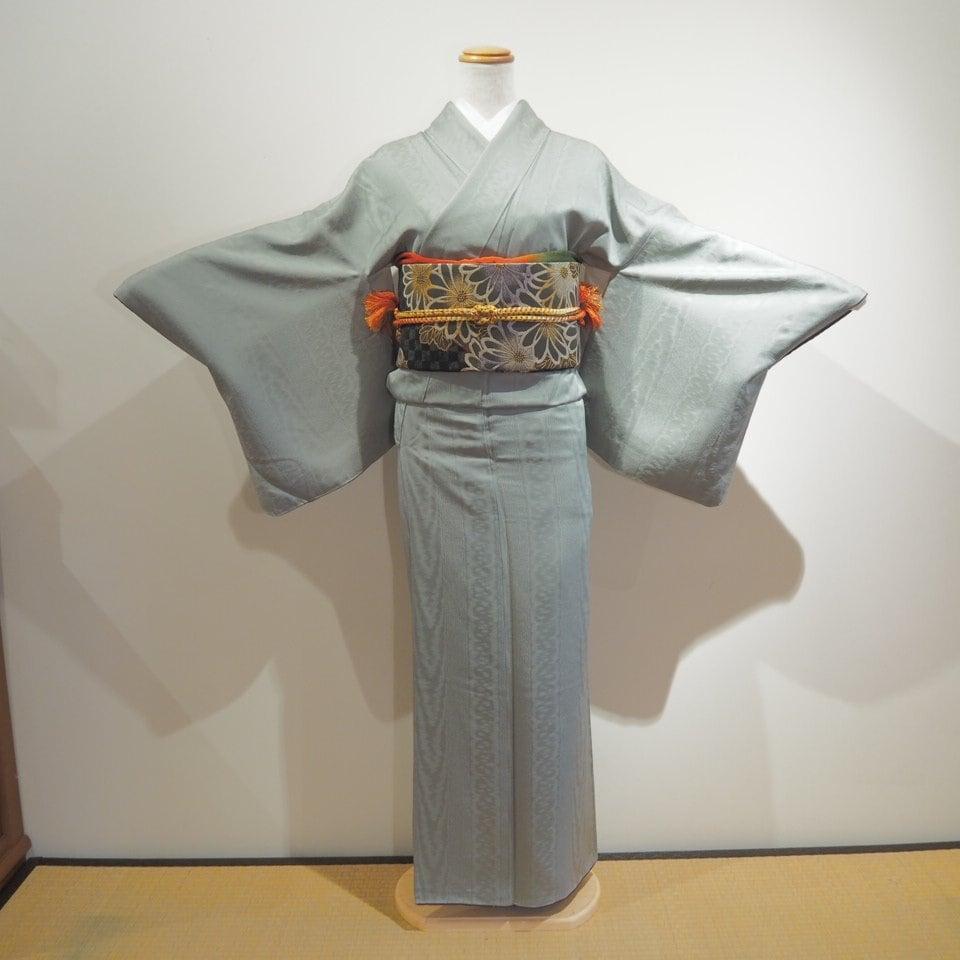 レンタル着物一式 色無地(正絹)袷 RI-07のイメージその1