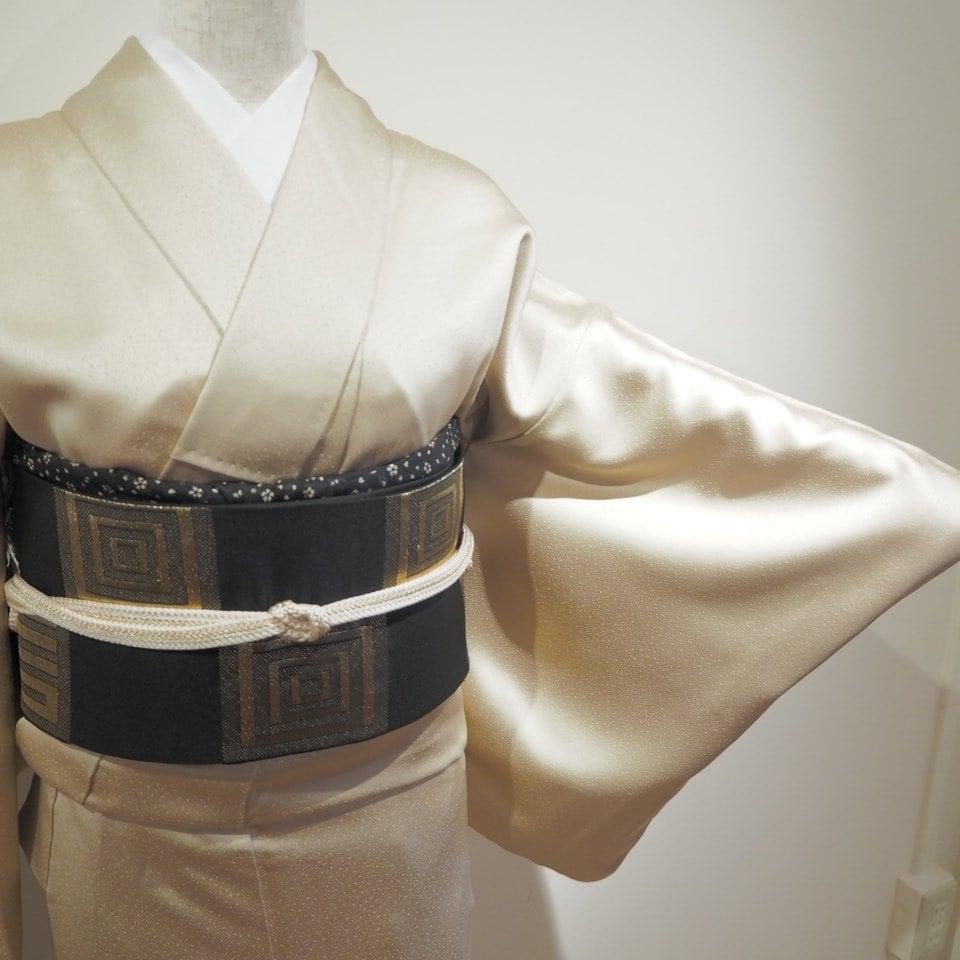 レンタル着物一式 色無地(正絹)袷 RI-12のイメージその2