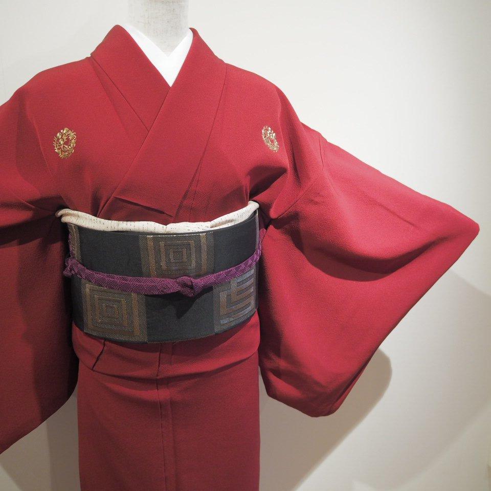 レンタル着物一式 色無地(正絹)袷 RI-06のイメージその2