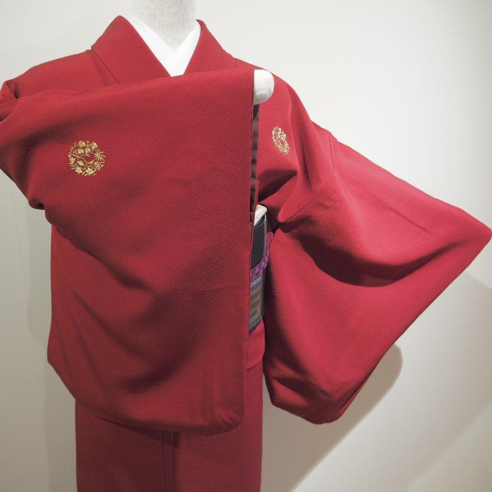 レンタル着物一式 色無地(正絹)袷 RI-06のイメージその4