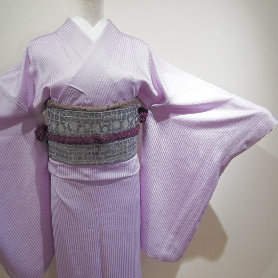 レンタル着物一式 色無地(正絹)袷 RI-09のイメージその2