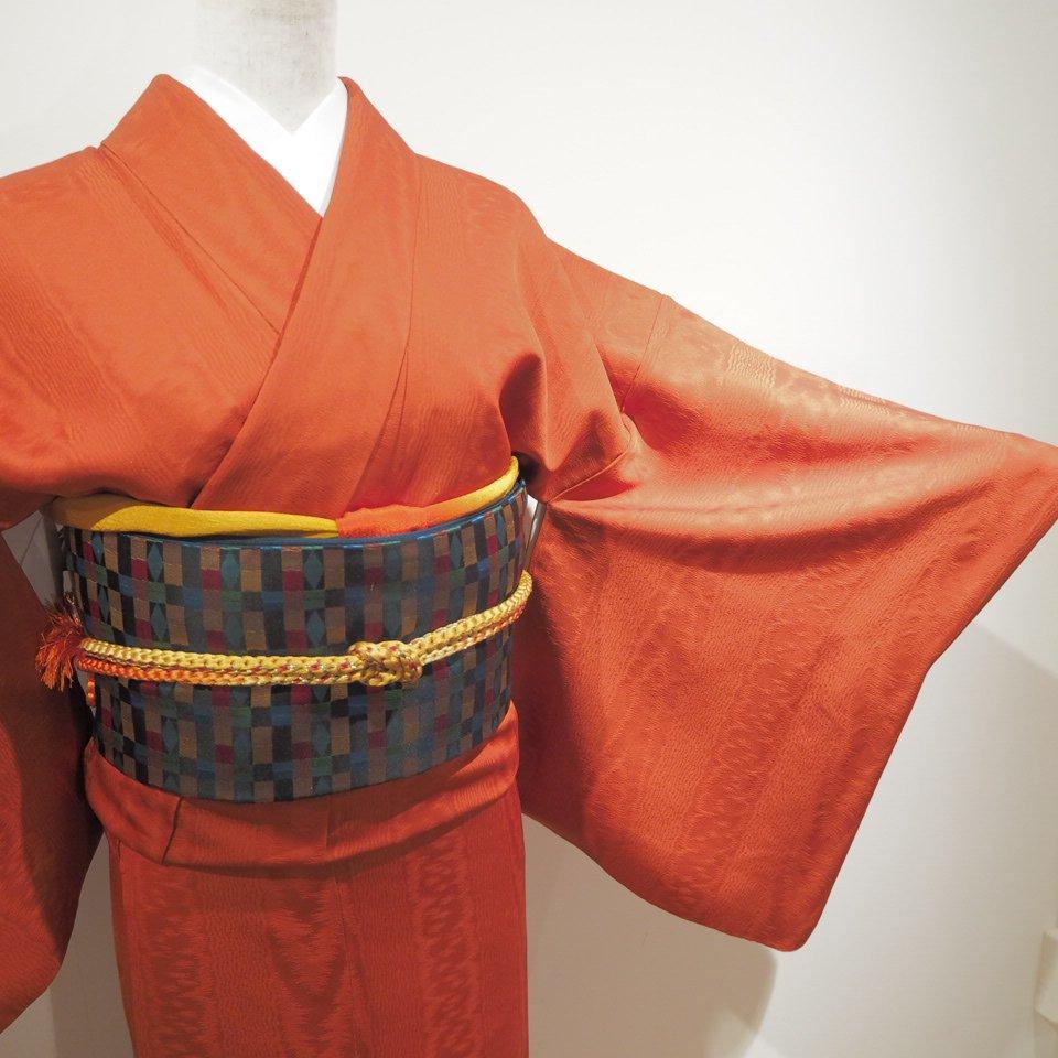 レンタル着物一式 色無地(正絹)袷 RI-01のイメージその2