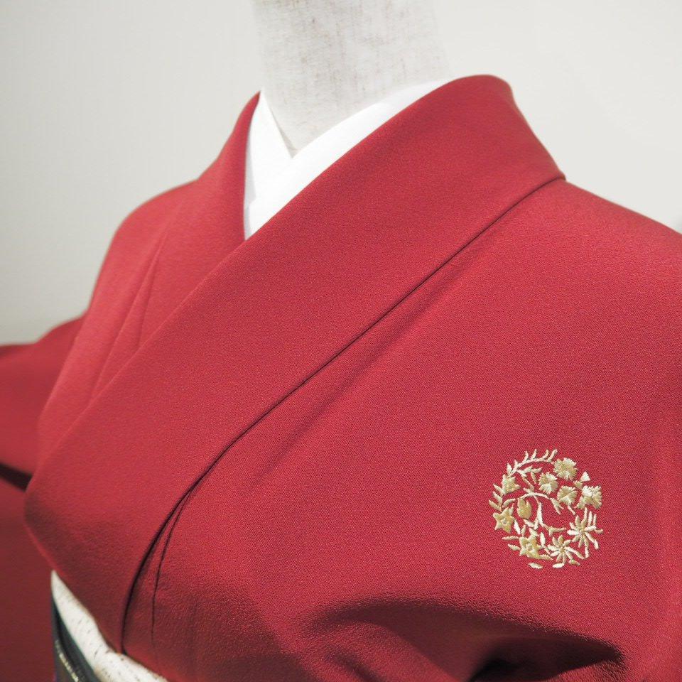 レンタル着物一式 色無地(正絹)袷 RI-06のイメージその3