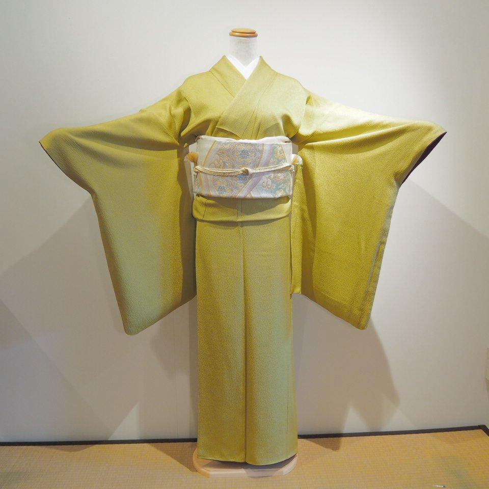 レンタル着物一式 色無地(正絹)袷 RI-11のイメージその1