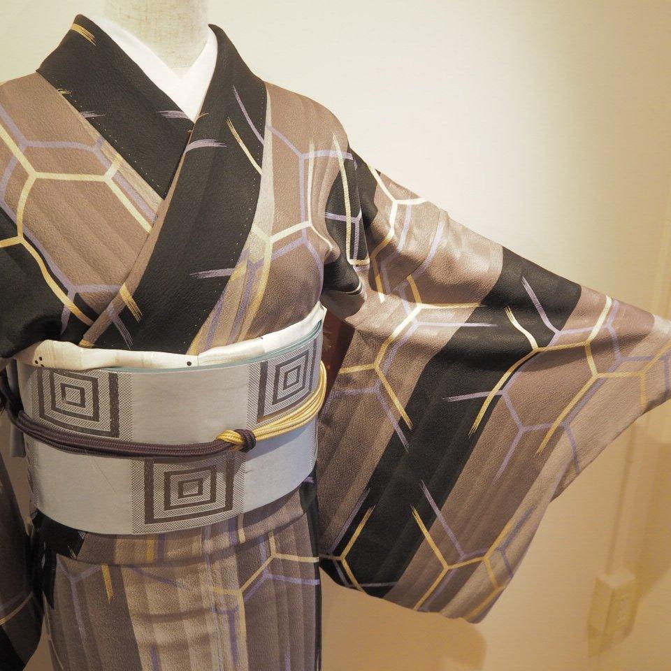 [金額変更]レンタル着物一式 小紋(正絹)袷 RK-01のイメージその2