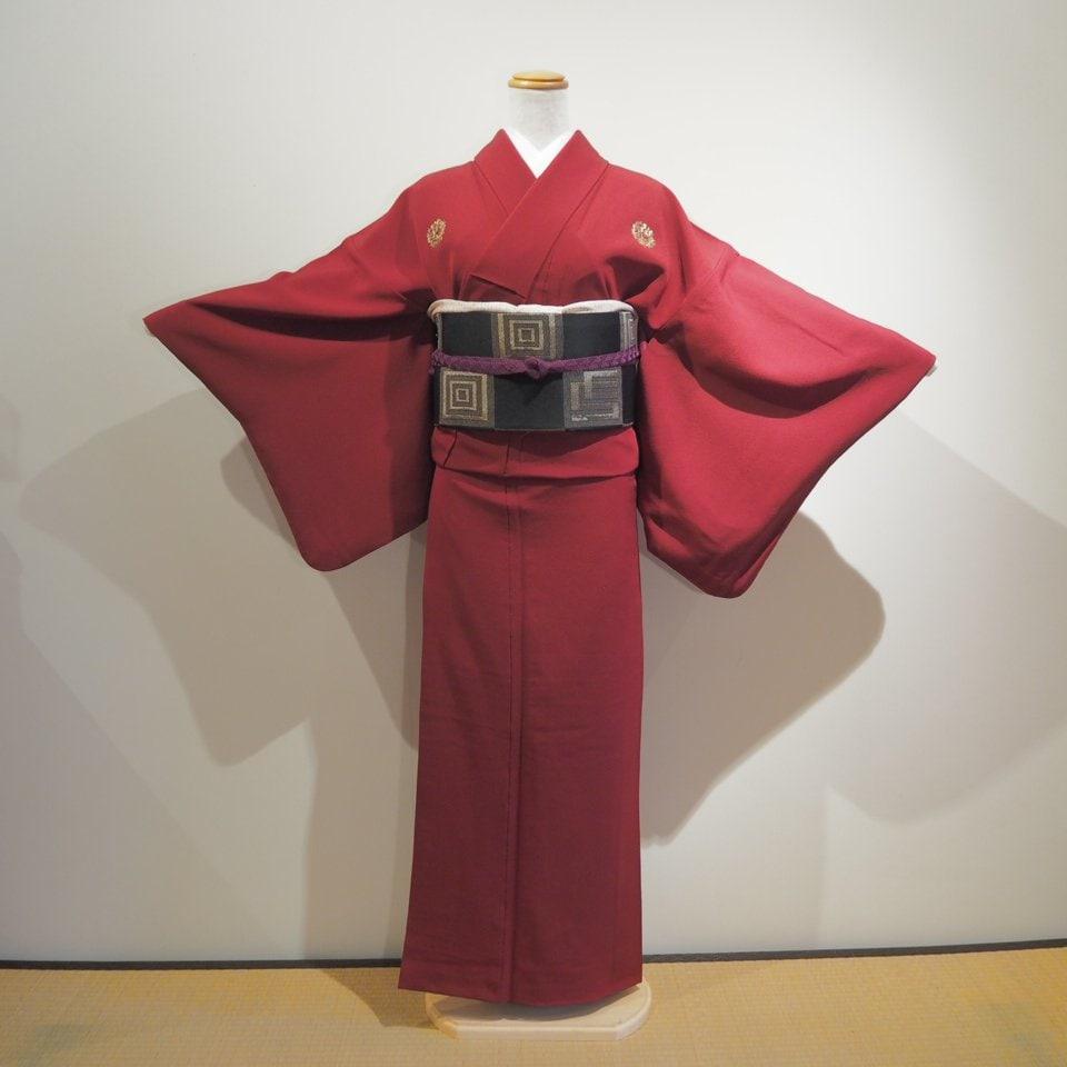 レンタル着物一式 色無地(正絹)袷 RI-06のイメージその1